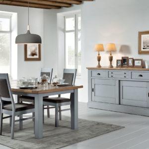 Meubles-Salle-a-manger-table-chaise-buffet-Romance-Atelier-de-Langres-magasin-nord-Bois&Deco-Beauvois-en-Cambresis