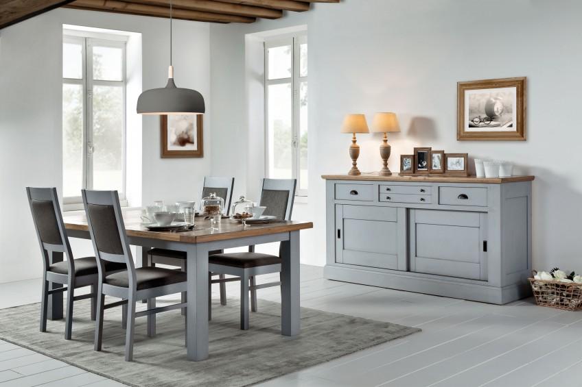 Les meubles 100% chêne massif de la collection ROMANCE : on adore !