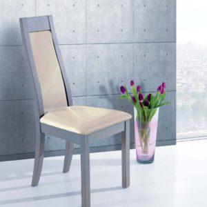 chaise chene gris