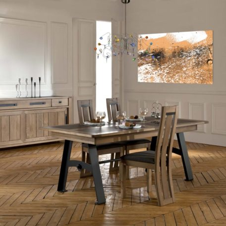 Salle-a-manger-meuble-table-chaise-buffet-Deauvil-chene-massif-ateliers-de-langres-magasin-nord-Bois&Deco-cambrai-Cambresis