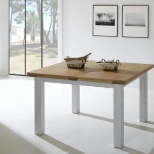 Table chêne massif Ateliers de Langres – WHITNEY CARRÉ