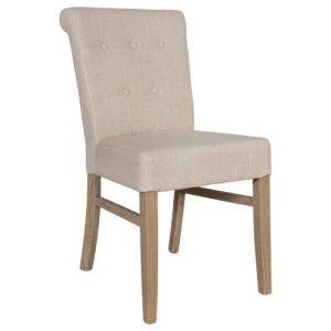 Chaise pied bois assise tissu au choix – Richmond Interiors- CHANTI