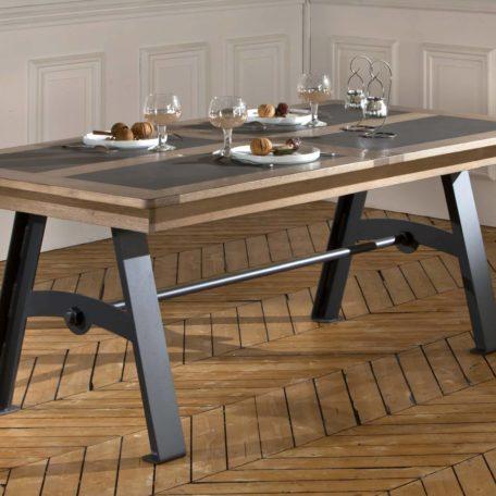 TABLE DE SALLE À MANGER DEAUVIL - ATELIER - Bois & Deco
