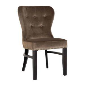 chaise genesis marron