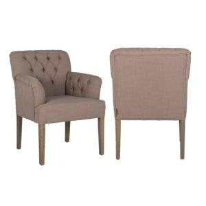chaise-jacky-haut-de-gamme-tres-confortable-tissu-choix-casa-coton-et-lin-vieux-rose-pieds-en-bois-boutons-richmond-interiors-boisetdeco