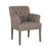 chaise-moderne-haut-de-gamme-tres-confortable-jacky-tissu-choix-casa-coton-et-lin-marron-beige-pieds-en-bois-boutons-richmond-interiors-boisetdeco