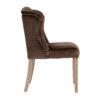 chaise-moderne-tissu-marron-macy-clous-gris-argent-richmond-interiors-chaise-tres-confortable-qualite-luxe-haut-de-gamme-boisetdeco-cambresis