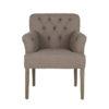 grosse-chaise-contemporaine-design-jacky-haut-de-gamme-tres-confortable-tissu-choix-casa-coton-et-lin-marron-gris-pieds-en-bois-boutons-richmond-interiors-magasin-meubles-chaises-boisetdeco