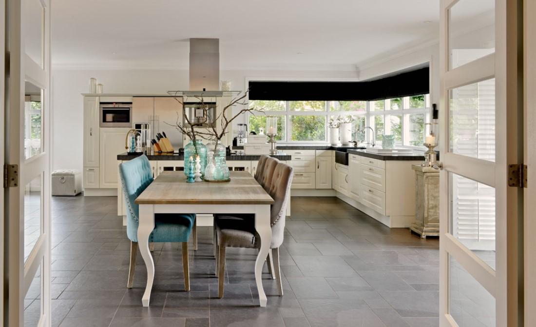 salle manger rustique richmond interiors table avec allonges westwood bois deco. Black Bedroom Furniture Sets. Home Design Ideas