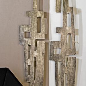 Tableaux sculptures murales bois deco beauvois nord - Sculptures metalliques murales ...