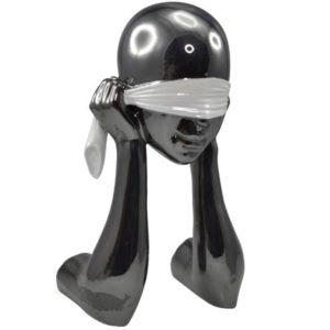 statue-visage-yeux-bandés-Bois&deco-decoration-ceramique-magasin-cambrai-valenciennes-beauvois-douai-lille