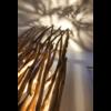 Mise en lumiere du lampadaire naturel en bois - modele FERRET