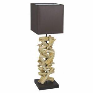 Lampe bois flotté H.85cm Flam&Luce – LUSAKA
