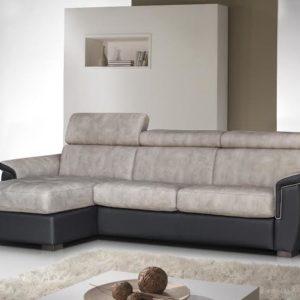 Canapé d'angle fixe 3/4 places – DENISE