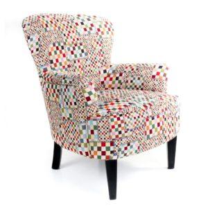 fauteuil original qualite tissu couleurs