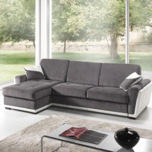 Canapé d'angle convertible avec ou sans méridienne 2 ou 3 places – LISA