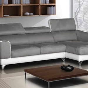 Canapé d'angle fixe 3/4 places – DAILA