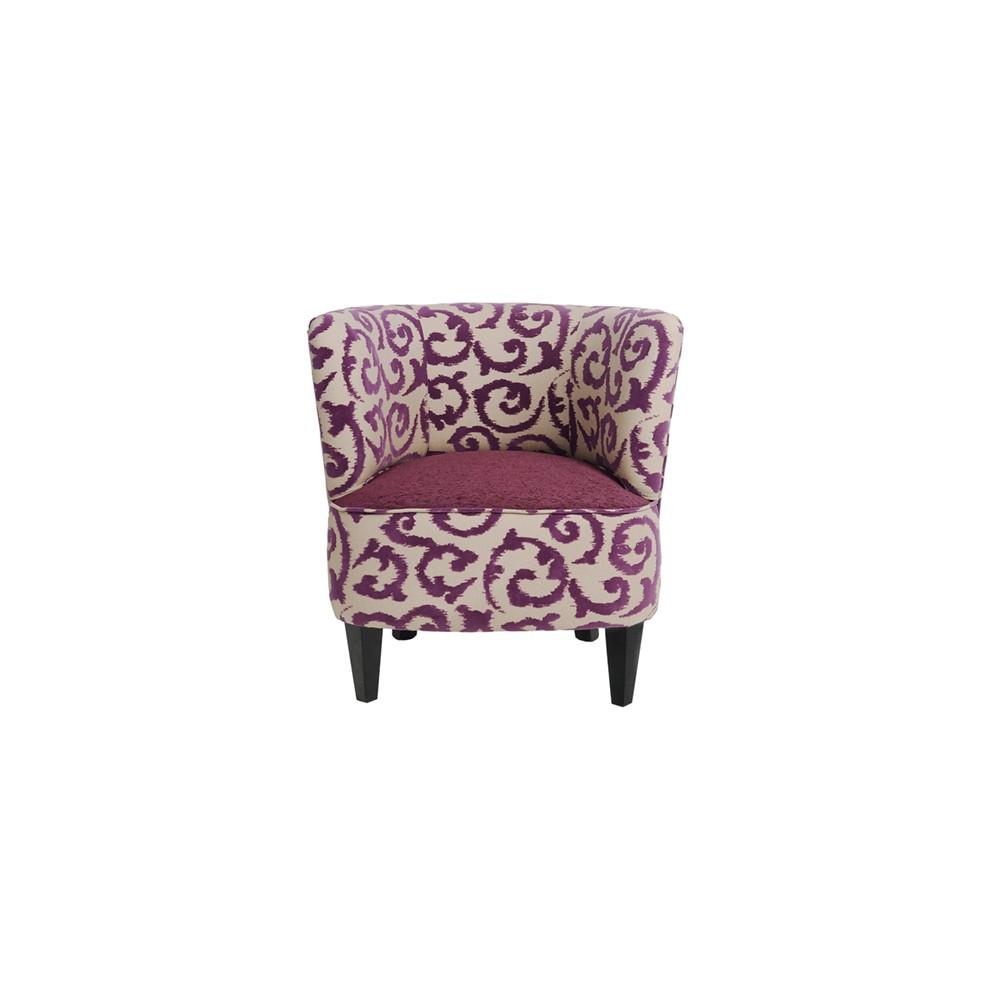 fauteuil tokio tissu antilope 15 bois deco. Black Bedroom Furniture Sets. Home Design Ideas