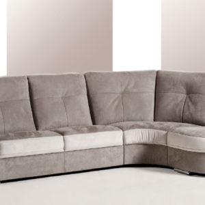 Canapé fixe 1 à 5 places tissu ou cuir – JULIETTE