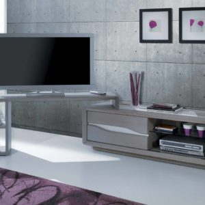 Meubles TV avec support chêne massif et céramique Ateliers de Langres – CERAM