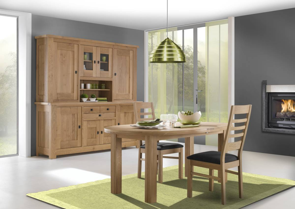 meubles salle a manger table chaise buffet whitney atelier de langres. Black Bedroom Furniture Sets. Home Design Ideas