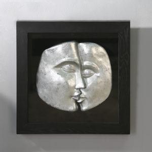 Cadre visages-Bois&Deco