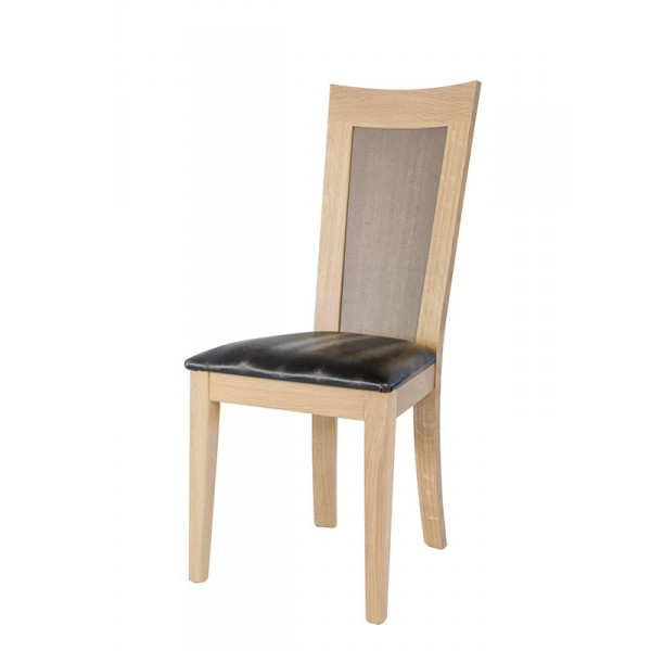 chaise crocus mod les 1651 et 1650 dossier tissu ou