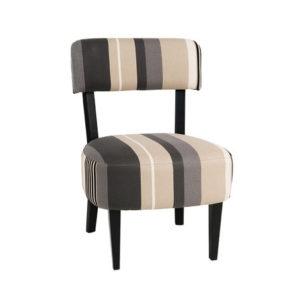 Chauffeuse, petit fauteuil tissu au choix – LEON