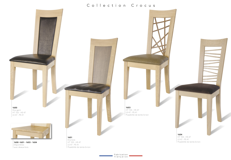 chaise crocus 1655 bois deco beauvois cambresis meuble