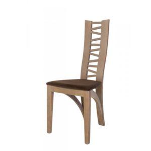 CHAISE ANIS – modèle 1440 – bois et tissu