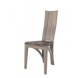 CHAISE ANIS – modèle 1460 en chêne, tissu assise au choix