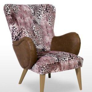 fauteuil-design-scandinave-motif-leopard-rose-marron-nino-alc