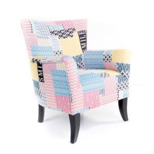 fauteuil tissu couleurs pastels
