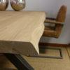 table design chêne massif