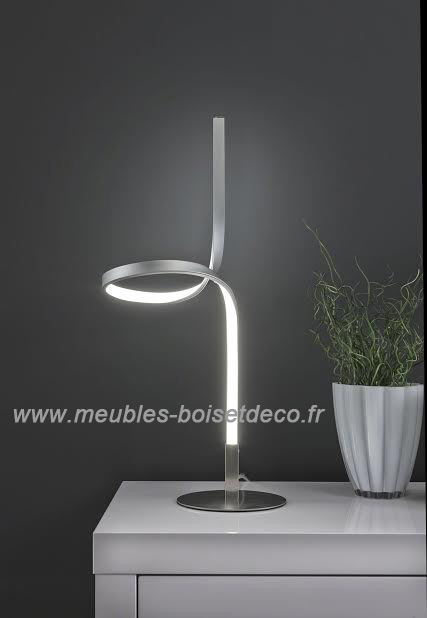lampe de table design contemporaine led curl. Black Bedroom Furniture Sets. Home Design Ideas