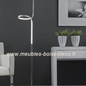 LAMPADAIRE DESIGN ZIJLSTRA – led, acier chromé