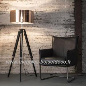 Lampadaire design H.145cm – ABAT-JOUR CUIVRE