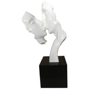 statue-deco-visages-blanc-couple-resine-Bois&deco-nord-cambrai-valenciennes-decoration