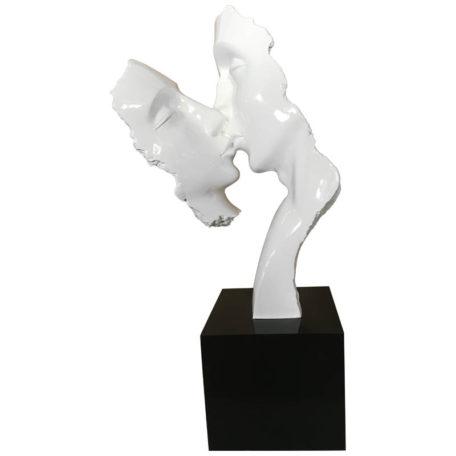 statue-deco-visages-blanc-couple-resine-Bois&deco-nord-cambrai-valenciennes-meubles-salons-decoration
