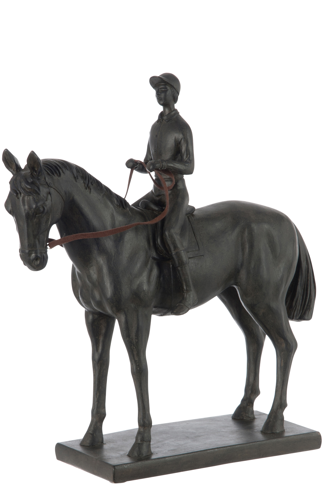 statue deco jolipa cheval cavalier bois deco cambrai nord. Black Bedroom Furniture Sets. Home Design Ideas