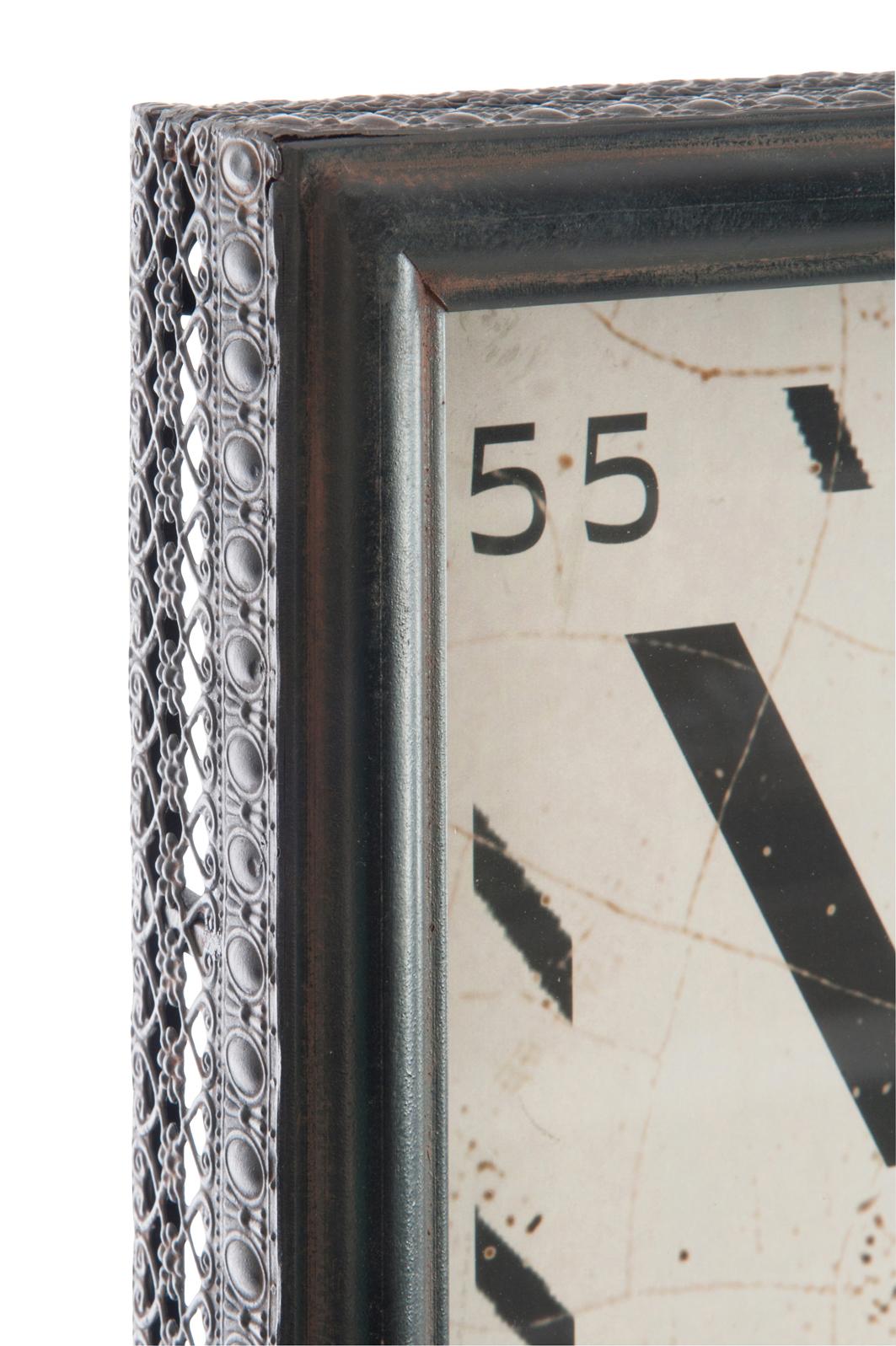 horloge a poser vintage decoration jolipa bois deco nord. Black Bedroom Furniture Sets. Home Design Ideas