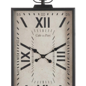 horloge-carrée-chiffres-romains-deco-Jolipa-bois&deco-beauvois-cambresis-cambrai-nord-douai-valenciennes-decoration-meubles-salons