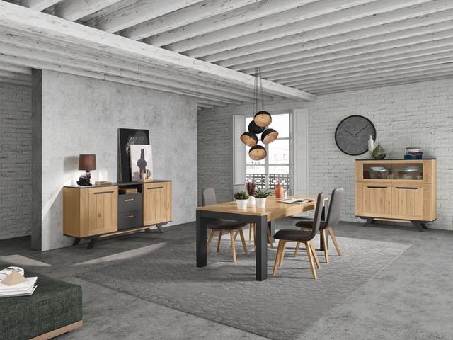 salle a manger lucia cacio ch ne meubles gibaud. Black Bedroom Furniture Sets. Home Design Ideas
