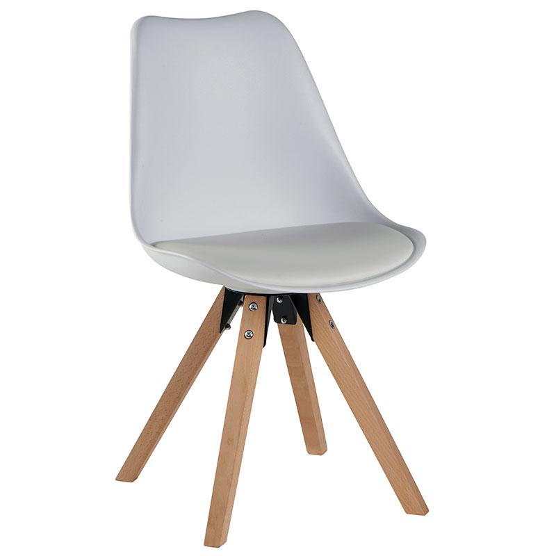 Chaise design hetre
