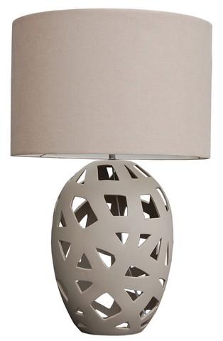 lampe a poser deco vatea ceramique boisetdeco nord. Black Bedroom Furniture Sets. Home Design Ideas