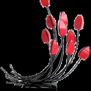 sculpture-metal-fleurs-tulipes-bois&deco-cambresis-decoration-nord