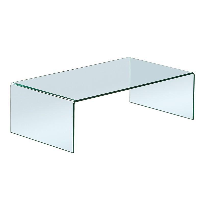 Table Basse Verre Moule Transparent Design Drimmer Meuble Deco