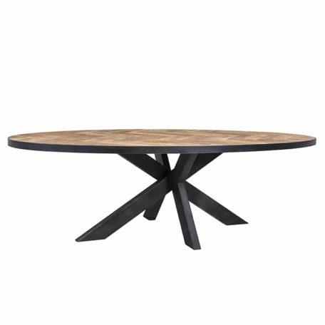 table-ovale-bois-chene-pieds-metal-barrington-richmond-interiors-bois&deco-meubles-gibaud-nord