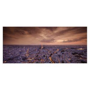 TABLEAU PHOTO SUR VERRE PARIS