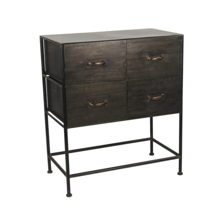 armoire-commode-metal-indus-industrielle-4-tiroirs-typographic-pomax-loft-design-magasin-boisetdeco-cambresis-nord